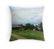 Little House on the Prairie-Lake Benton, Mn Throw Pillow