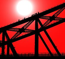 Climbing the Sydney Harbour Bridge by John Dalkin