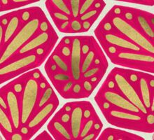 Pink & Gold Sea Turtle Sticker