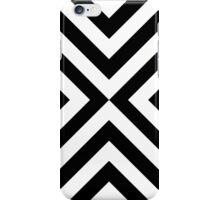 Black & White Simple Pattern iPhone Case/Skin