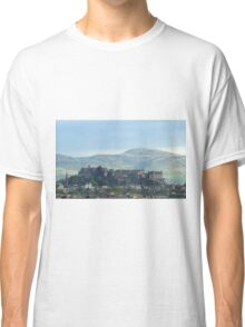 Edinburgh Castle Sky Line  Classic T-Shirt