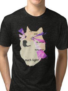 Doge - such galaxy Tri-blend T-Shirt