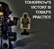Tomorrow's victory is today's practice by Tim Constable by TimConstable