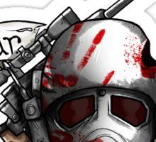 Fallout Ranger Tattoo Sticker
