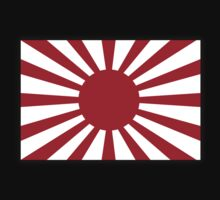 JAPAN, Imperial, Japanese, Army, War flag, WWII, Nippon, Kamikaze Kids Clothes
