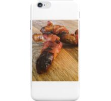 Snags and bacon iPhone Case/Skin