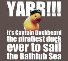 Captain Duckbeard One Piece - Short Sleeve
