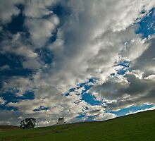Corgarff Castle under clouds by allysshrimp