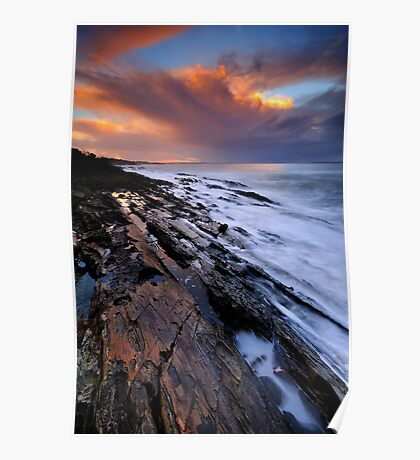 Brickmakers Sunset Poster