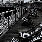 Brighton Deck Chairs by Pippa Carvell