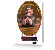 Wandering Oakens Trading Post And Sauna Greeting Card