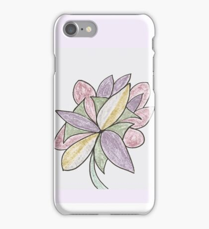 Carnivaled Flowers (a Bouquet of Pastel Colours) iPhone Case/Skin