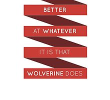 Deadpool Quote by MarkCann