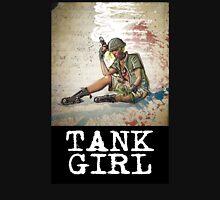 tank girl comics comic comix grrl grrrl comic book dark nuggets female woman gun smoking Unisex T-Shirt