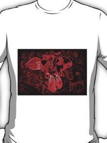 Red Iris Morning T-Shirt
