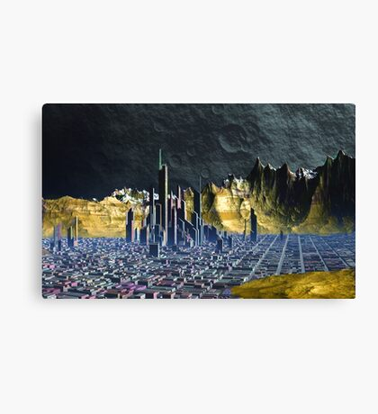 Miner's Moons Canvas Print