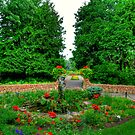 ENGLISH GARDENS ENTRANCE!!! by Larry Trupp