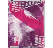Plum Dandy - Textured Abstraction iPad Case/Skin