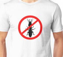 Beware Termites Symbol Unisex T-Shirt