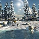 Winters End by 3DdesktopsUK