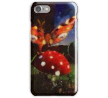 Butterfly Fantasy by Sarah Kirk iPhone Case/Skin