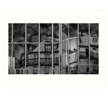 Forum des Halles, Paris Art Print