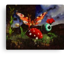 Butterfly Fantasy by Sarah Kirk Canvas Print
