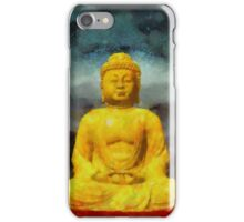 Buddha by Sarah Kirk iPhone Case/Skin