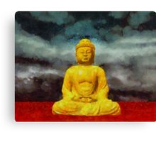 Buddha by Sarah Kirk Canvas Print