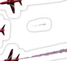 red arrows straight through my heart Sticker
