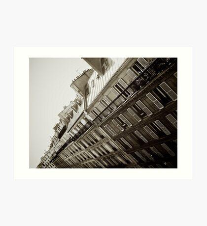 Paris Apartments Art Print
