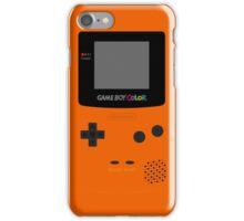 Game Boy Orange iPhone Case/Skin