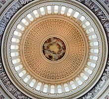 Dome of the US Capitol by MikeJagendorf