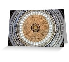 Dome of the US Capitol Greeting Card