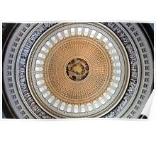 Dome of the US Capitol Poster