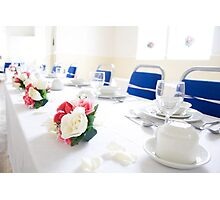 Top Table Photographic Print