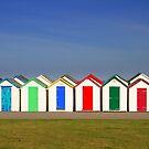 Beach Huts by MarkCann