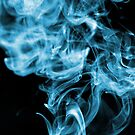 Mysterious Blue Smoke by MikeJagendorf