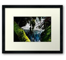 Umpqua Blue Hole Framed Print