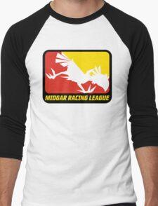 Sticker! Midgar Racing League Men's Baseball ¾ T-Shirt