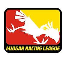 Sticker! Midgar Racing League Photographic Print