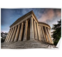 Jefferson Memorial at Sunset Poster