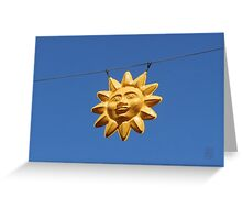 A Sunny Day Greeting Card