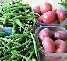 Red Potatoes and Green Beans by BabyBundtCake