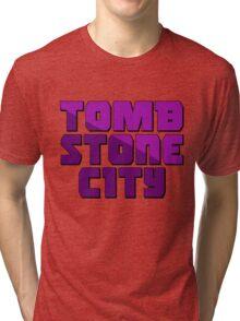 Tomb Stone City Tri-blend T-Shirt
