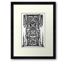 Crop Circles in the Carpet Framed Print