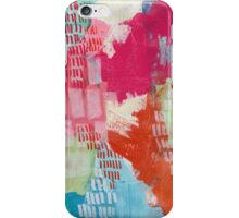 Wild and Free - Textured Abstraction iPhone Case/Skin