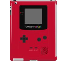 Game Boy Red iPad Case/Skin