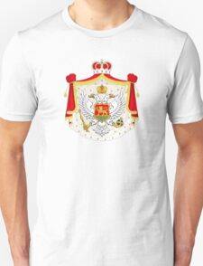 Coat of Arms of Kingdom of Montenegro, 1910-1918 T-Shirt