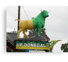 Up Donegal For GAA Finals - Burnfoot County Donegal Ireland . Canvas Print